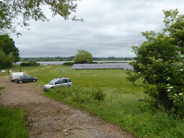 Solar farm, Staverton