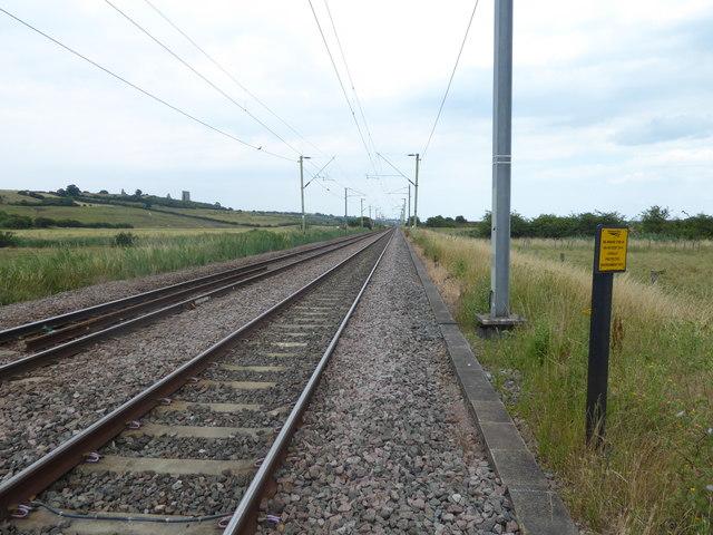 The C2C Line towards Leigh-on-Sea