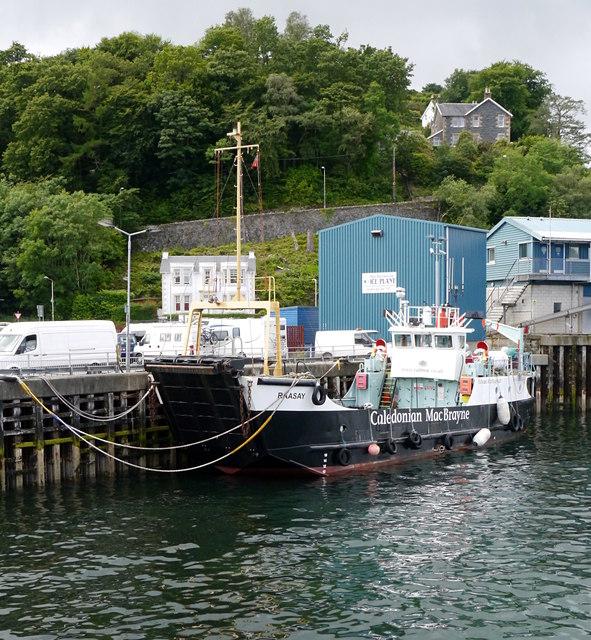 MV Raasay, Oban Harbour