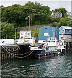 NM8529 : MV Raasay, Oban Harbour by Craig Wallace