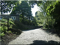 SE0927 : Lee Lane, 'The Shibden Wall' in cyclings Top 100 climbs by Colin Pyle