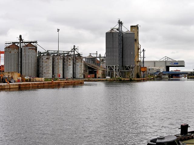 Storage Silos, Goole South Dock Basin