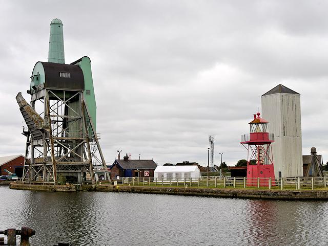 Goole Harbour, South Dock