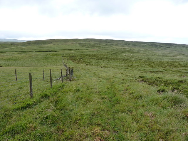 Down hill to the bwlch