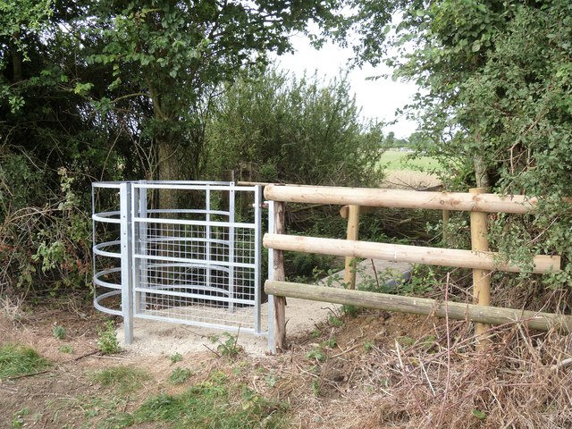 New gate and bridge