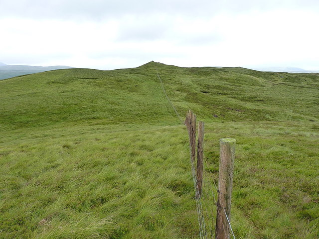 Along the fence to Carreg y Bîg