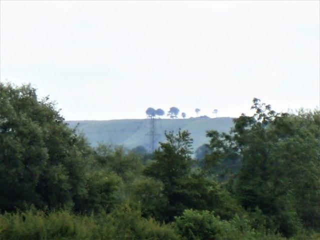 Oliver's Castle from near Redstocks