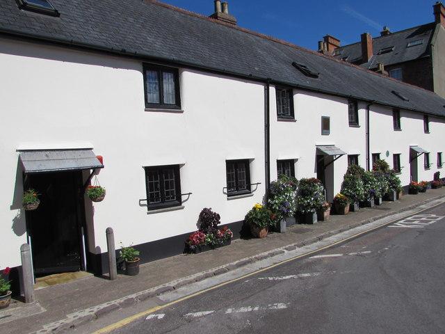The Almshouses, Market House Lane, Minehead