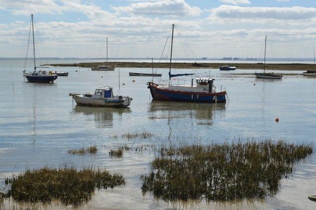 Boats, Thames Estuary