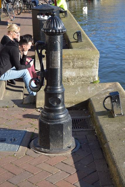 Mock Water Pump, The Quay