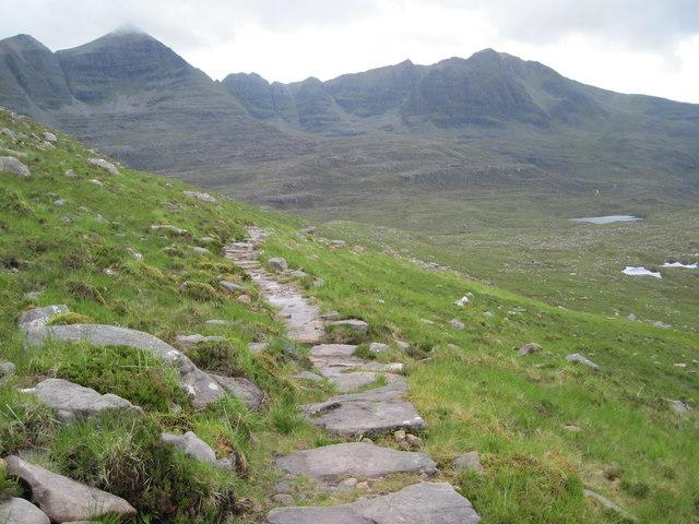The Coire Mhic Fhearchair path