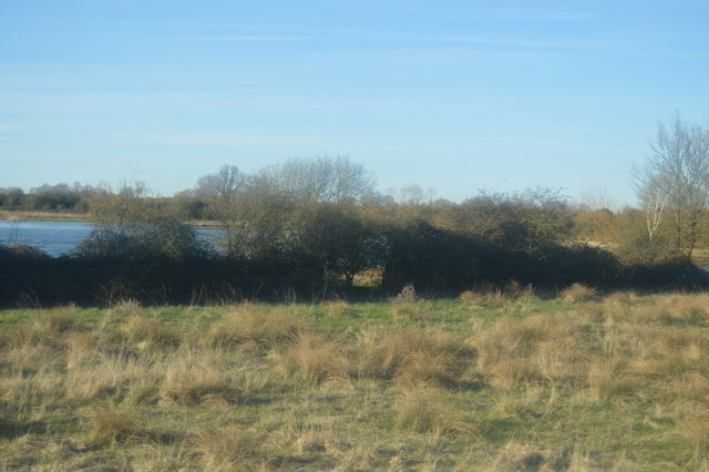 Glimpse of Swavesey Lake