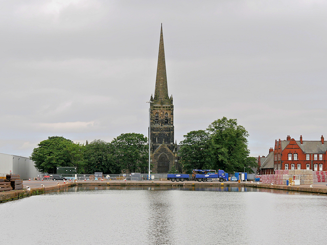 The Church of St John the Evangelist and Aldam Dock, Goole