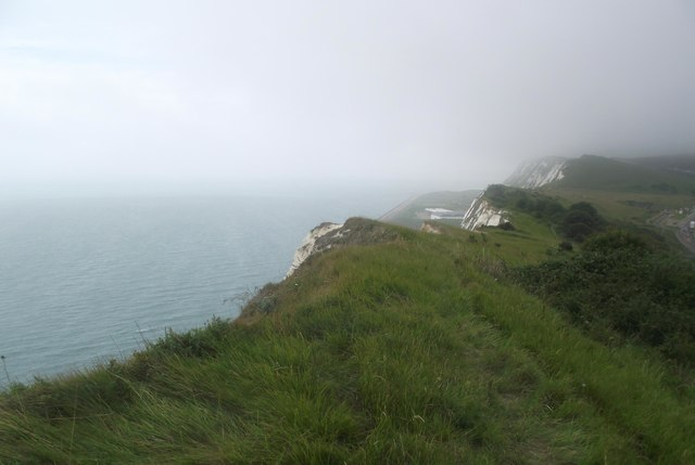 The edge of Shakespeare Cliff
