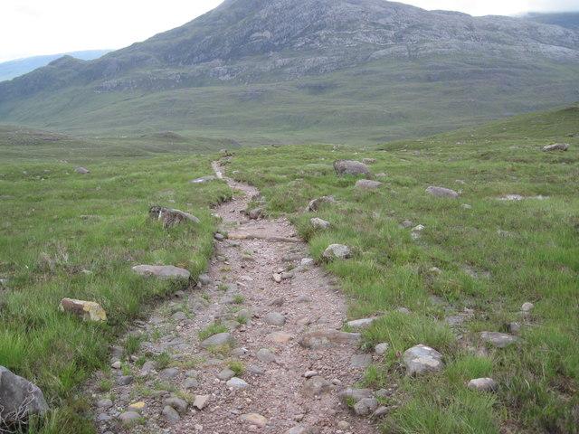 The Coire Dubh Mòr path