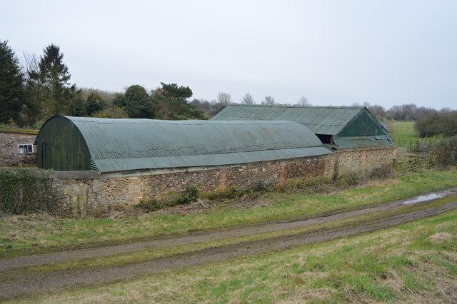 Barn near Downham Bridge