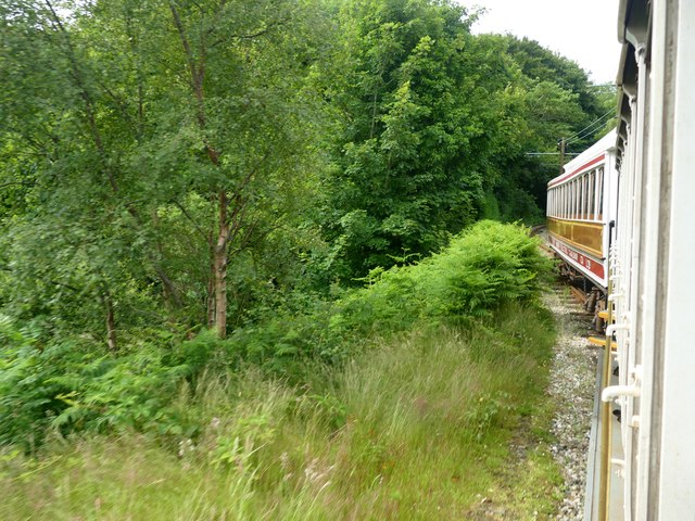 On the Manx Electric Railway