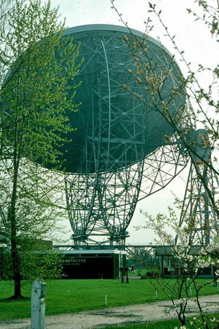 Mark I Telescope, Jodrell Bank, 1976