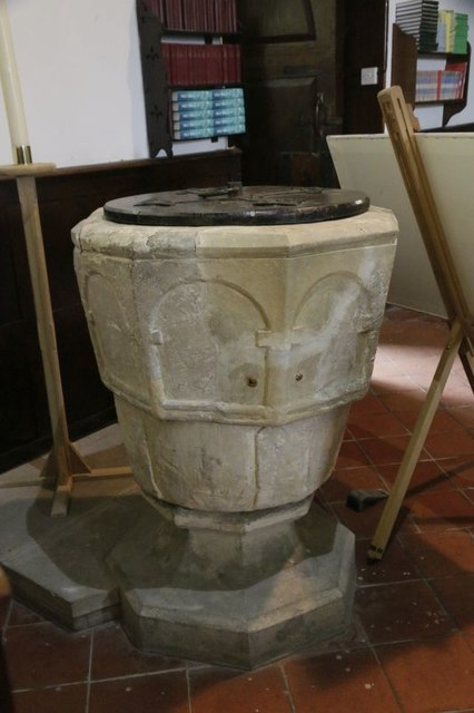 Font in St Mary