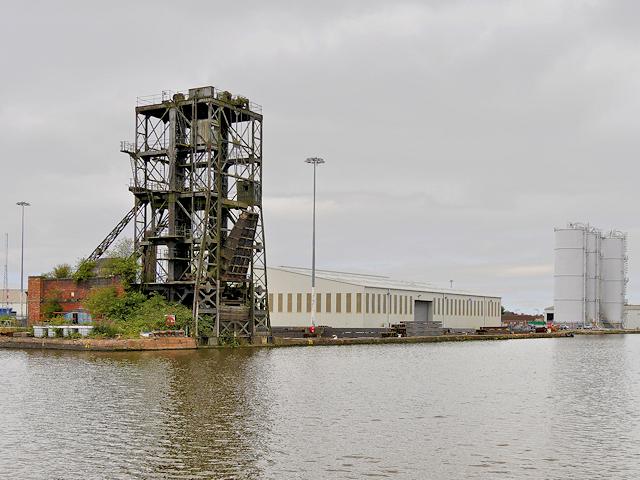 Coal Wagon Hoist, Railway Dock