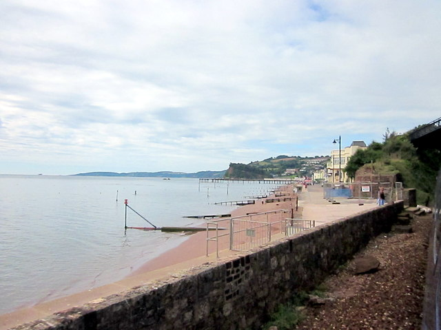Approaching Teignmouth by Rail