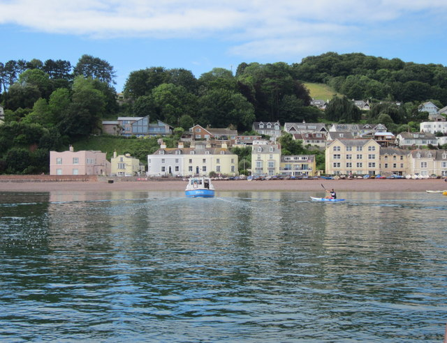 Shaldon From the Ferry Boat