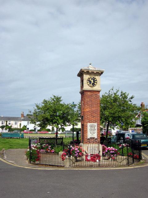 Clock Tower Shaldon