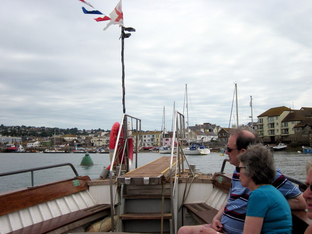 Teignmouth From the Ferry Boat