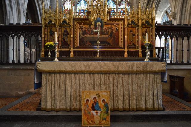 Church of St Mary - altar