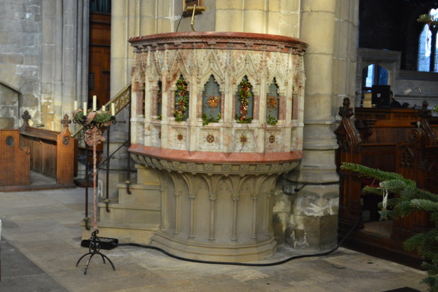 Church of St Mary - pulpit