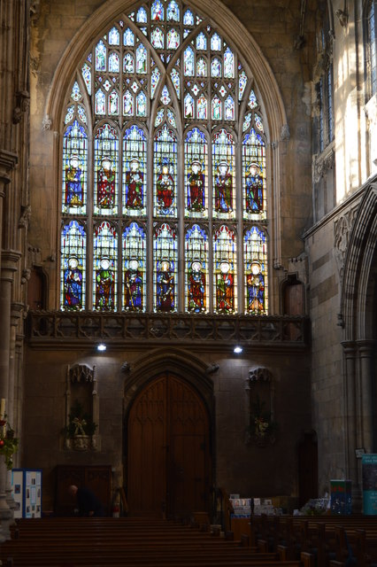 Church of St Mary - stained glass windows