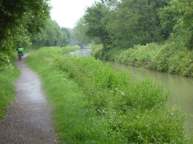 Canal towpath near Sells Green