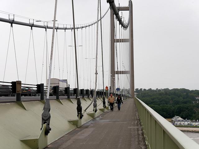 Humber Bridge Eastern Walkway