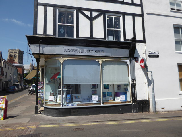 Norwich Art Shop, Cow Hill