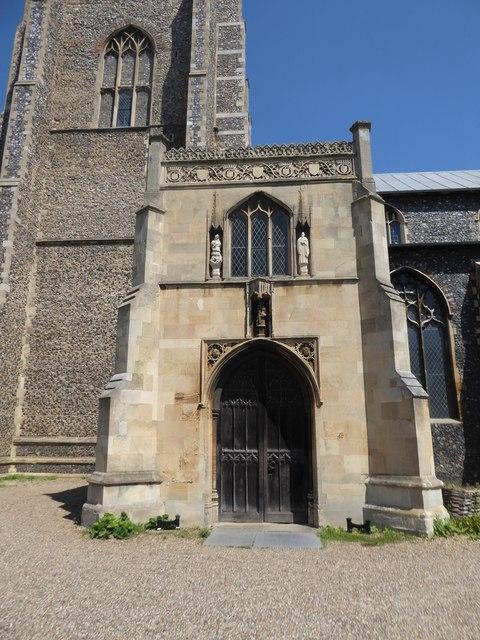St Giles, Norwich: porch