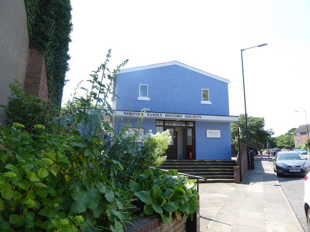 Norfolk Family History Society, St Giles Street