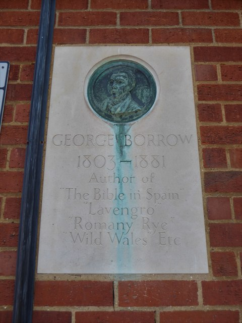 Plaque in Cow Hill