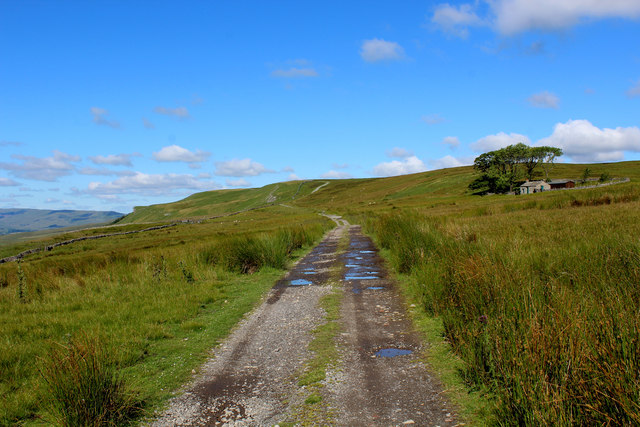 Moorland Track on Askrigg Common