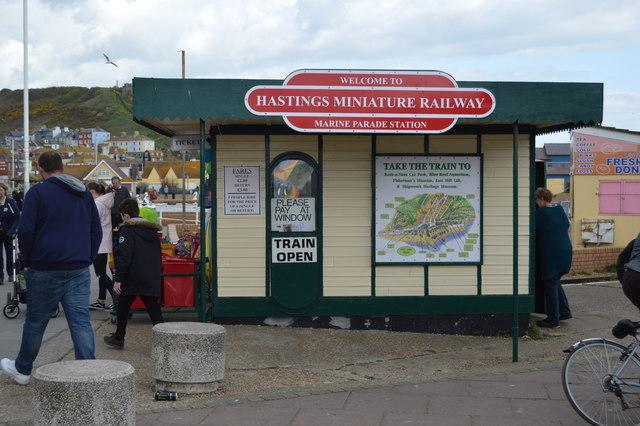 Marine Parade Station, Hastings Miniature Railway