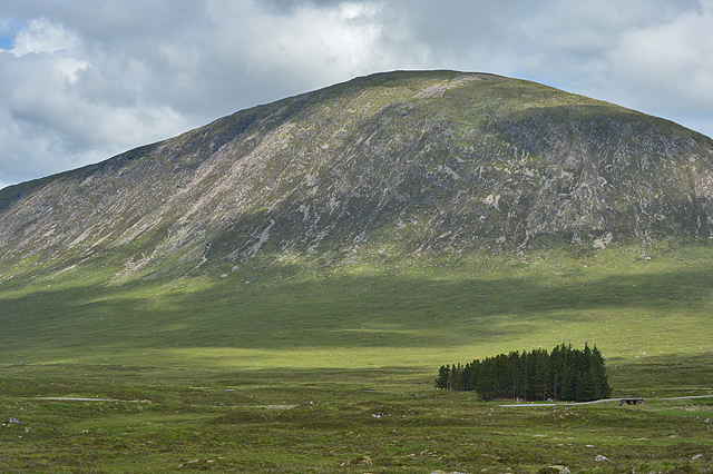 View towards Beinn a' Chrùlaiste