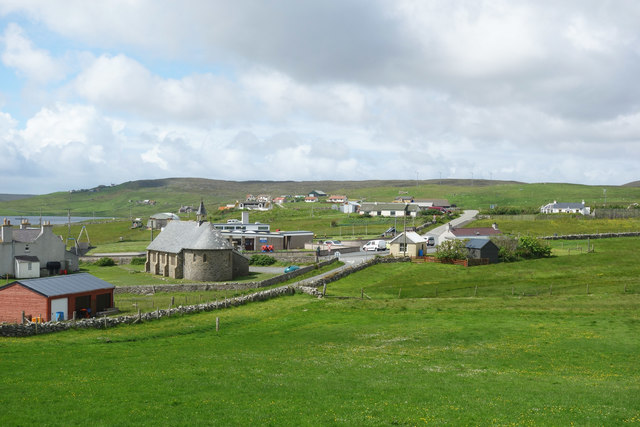 View over Burravoe
