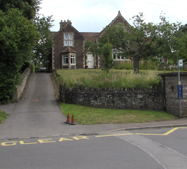 Wotton Road entrance to the village school, Iron Acton
