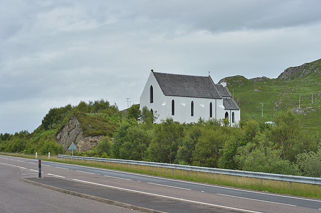 Converted church at Polnish