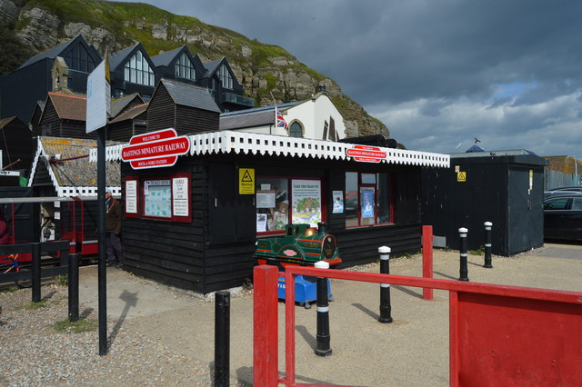 Rock a Nore Station, Hastings Miniature Railway