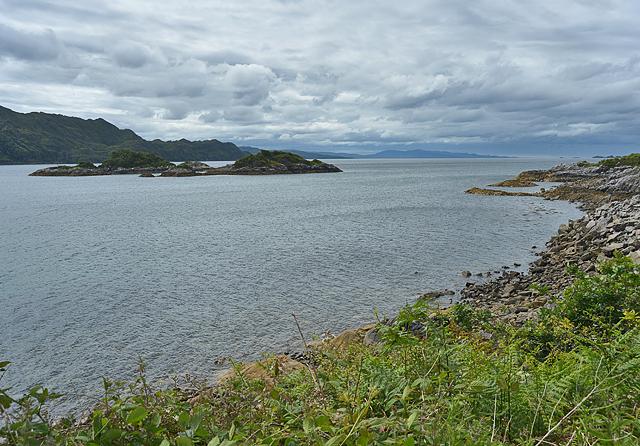 Eilean Gobhlach and Loch nan Uamh