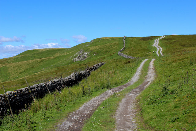 Track on Whitfield Fell (1)