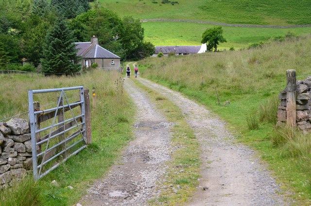 Track past Blackhouse