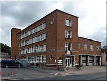 SO5139 : Fire station, St Owen's Street, Hereford by Stephen Richards