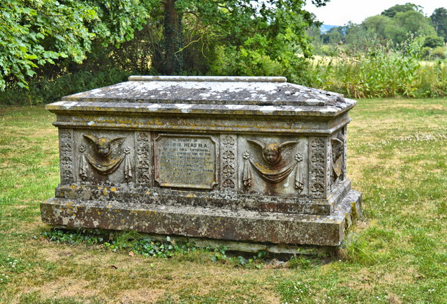 Table tomb of Rev. George Head, M.A.