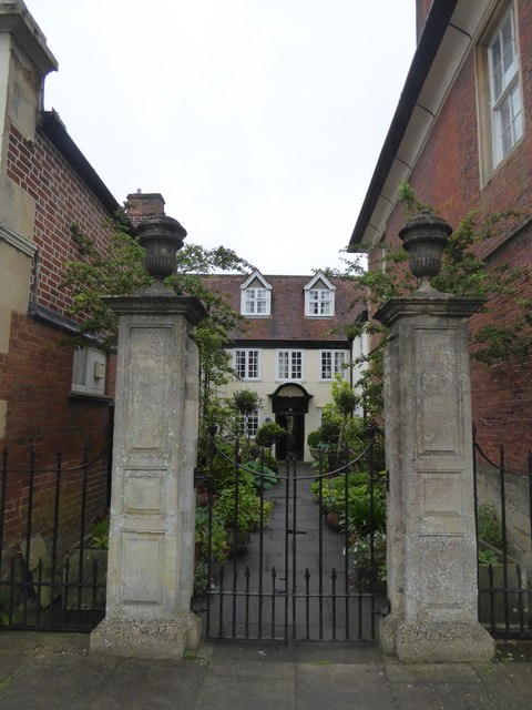 Gateway and front path, off Market Place